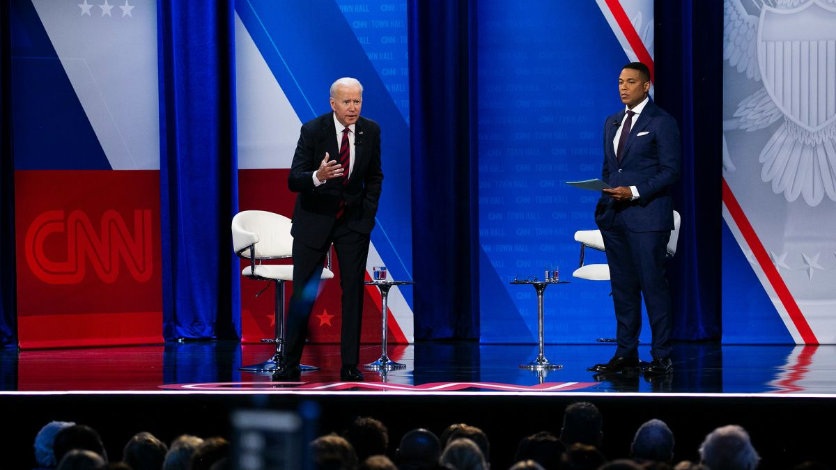 cnn.com - By Daniel Dale and Tara Subramaniam, CNN  - Fact check: Biden makes false claims about Covid-19, auto prices and other subjects at CNN town hall