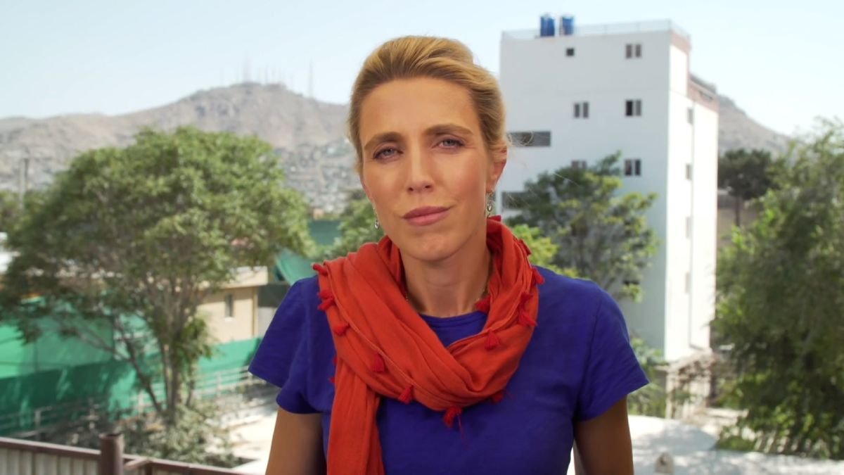 Clarissa Ward reports from Afghanistan's capital. Here's what she's seeing  - CNN Video