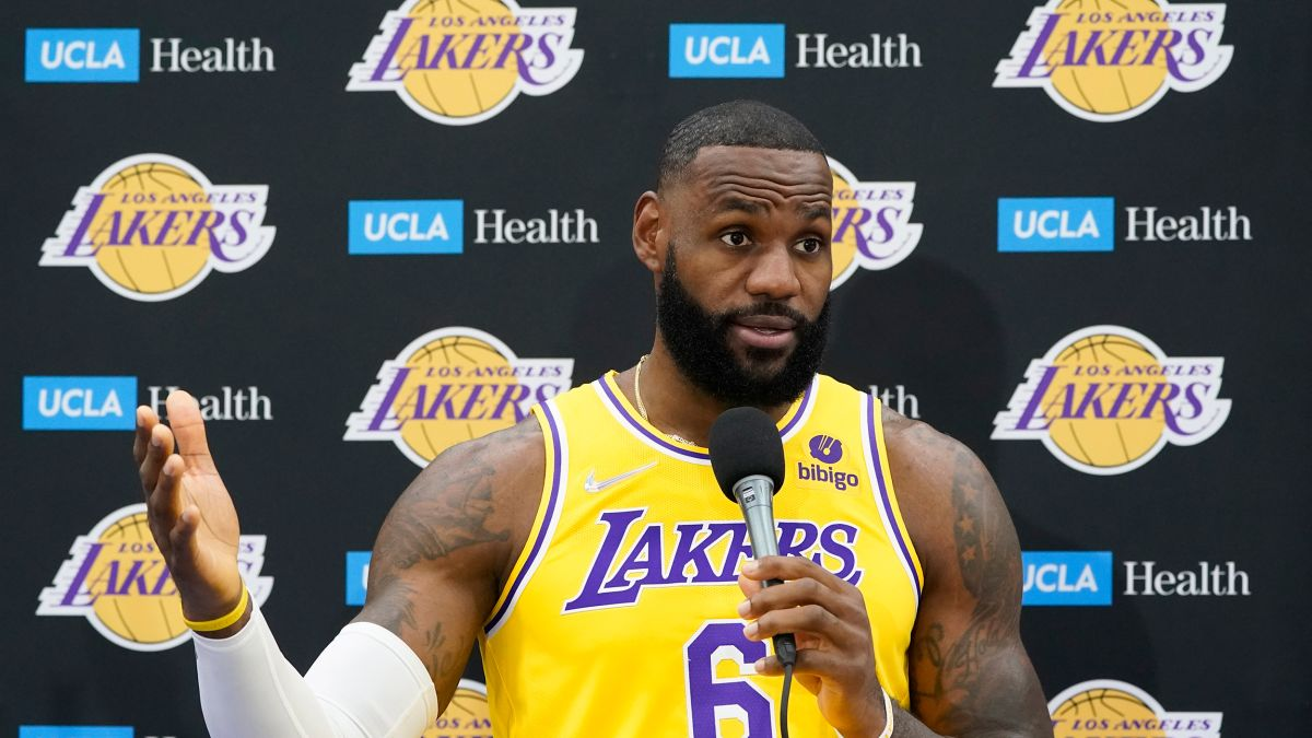 LeBron James Says He Was a Vaccine Skeptic, But Got the Jab Anyway Along with His Whole Family