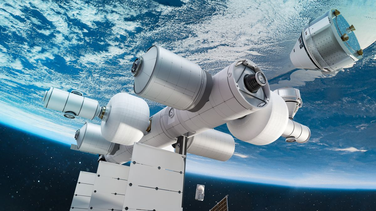 cnn.com - By Jackie Wattles, CNN Business  - Jeff Bezos' Blue Origin wants to build a tourism space station nearly as big as the ISS
