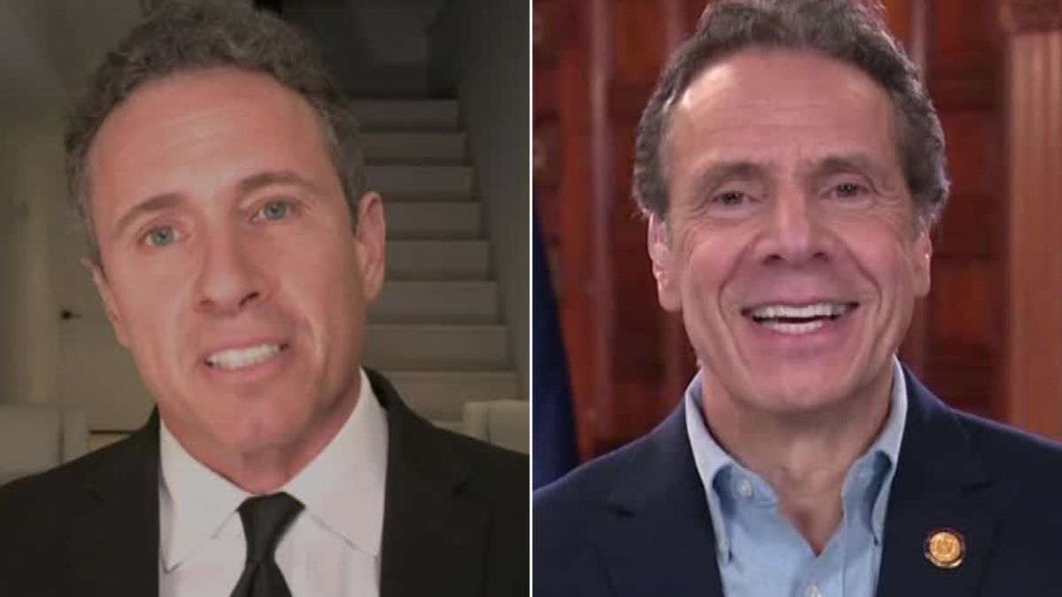 CNNs Chris Cuomo Reportedly Caught Naked In Background Of