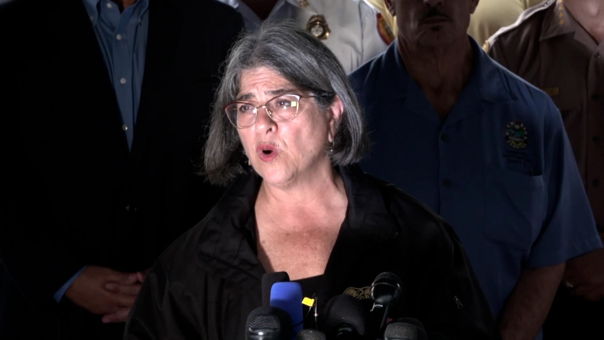 Miami-Dade Mayor Daniella Levine Cava.