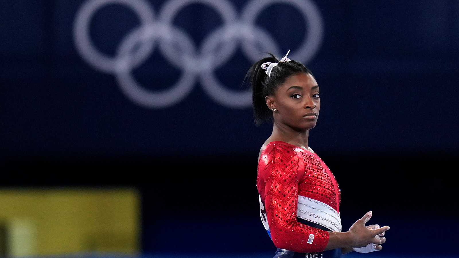 Simone Biles drops out of individual all-around competition