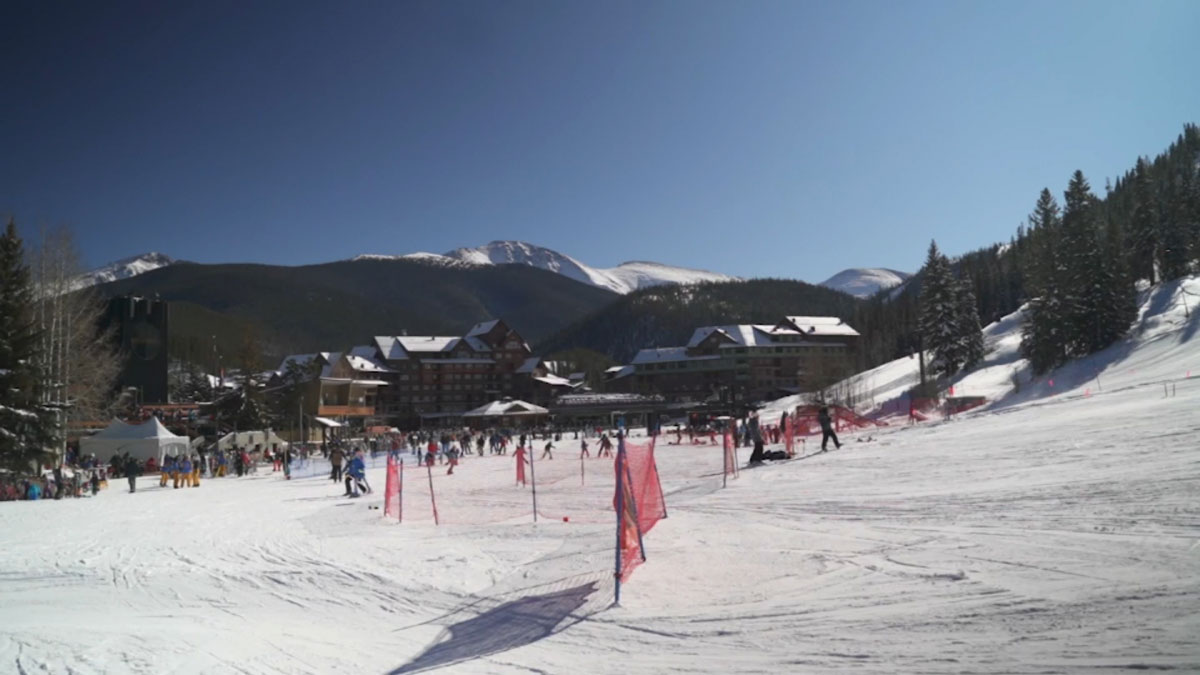Winter Park Resort in Grand County, Colorado.
