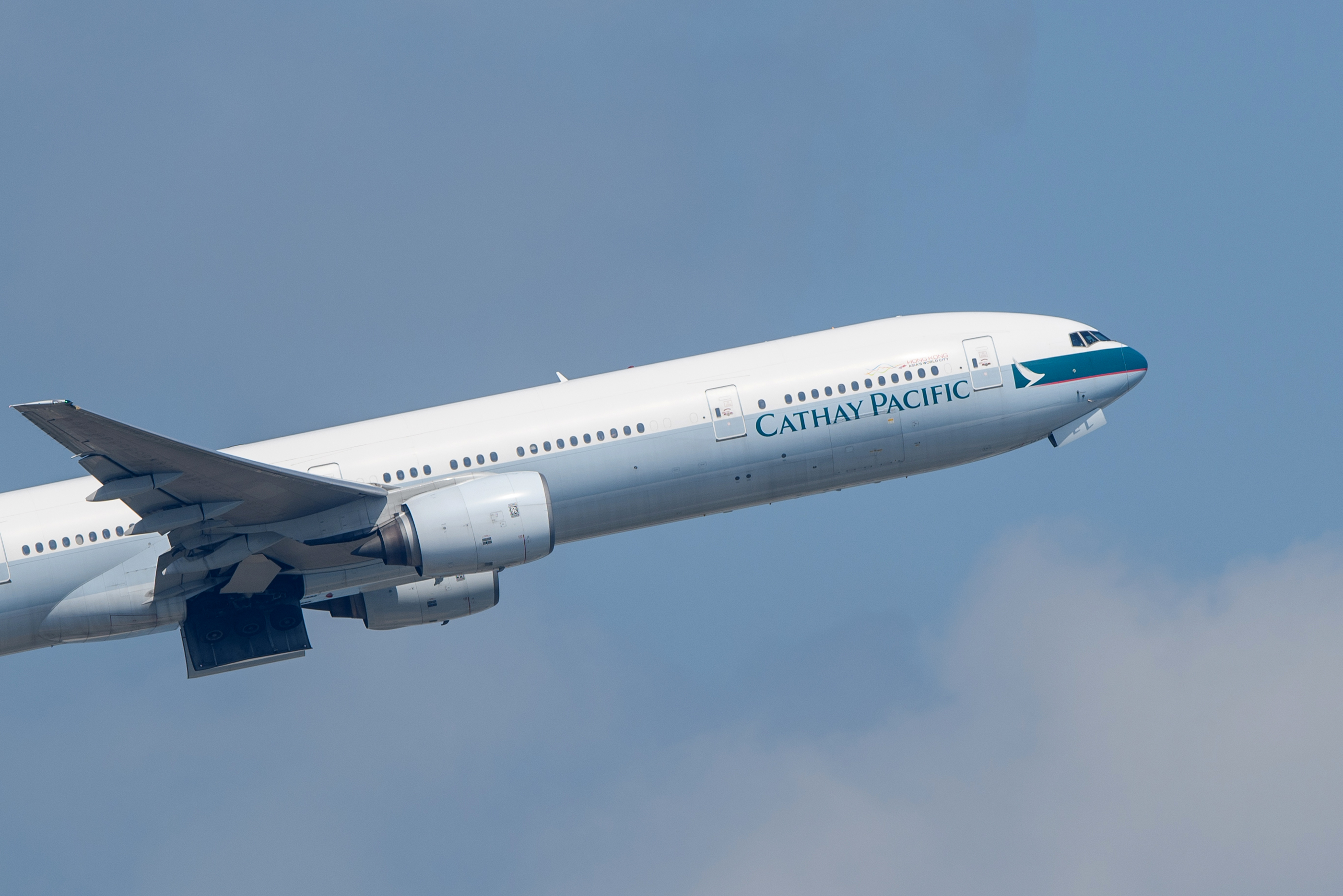 Cathay Pacific is one of several airlines that have canceled flights in Hong Kong today amid strikes and protests.