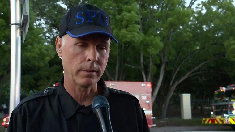 Surfside Mayor Charles Burkett.