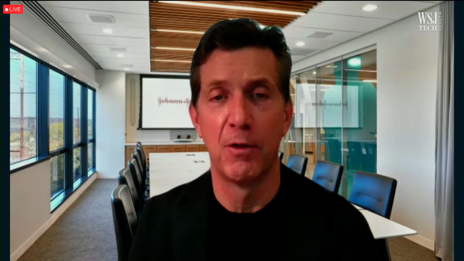 Alex Gorsky, chairman and CEO of Johnson & Johnson, on June 9.