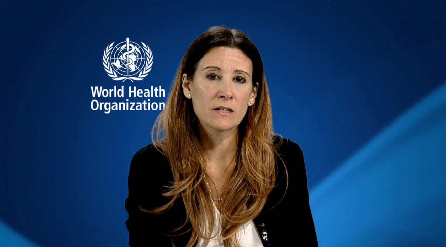 Maria Van Kerkhove, the World Health Organization's technical lead for Covid-19, on December 21.