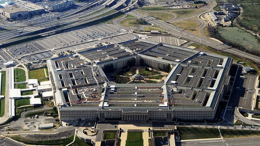The Pentagon building.