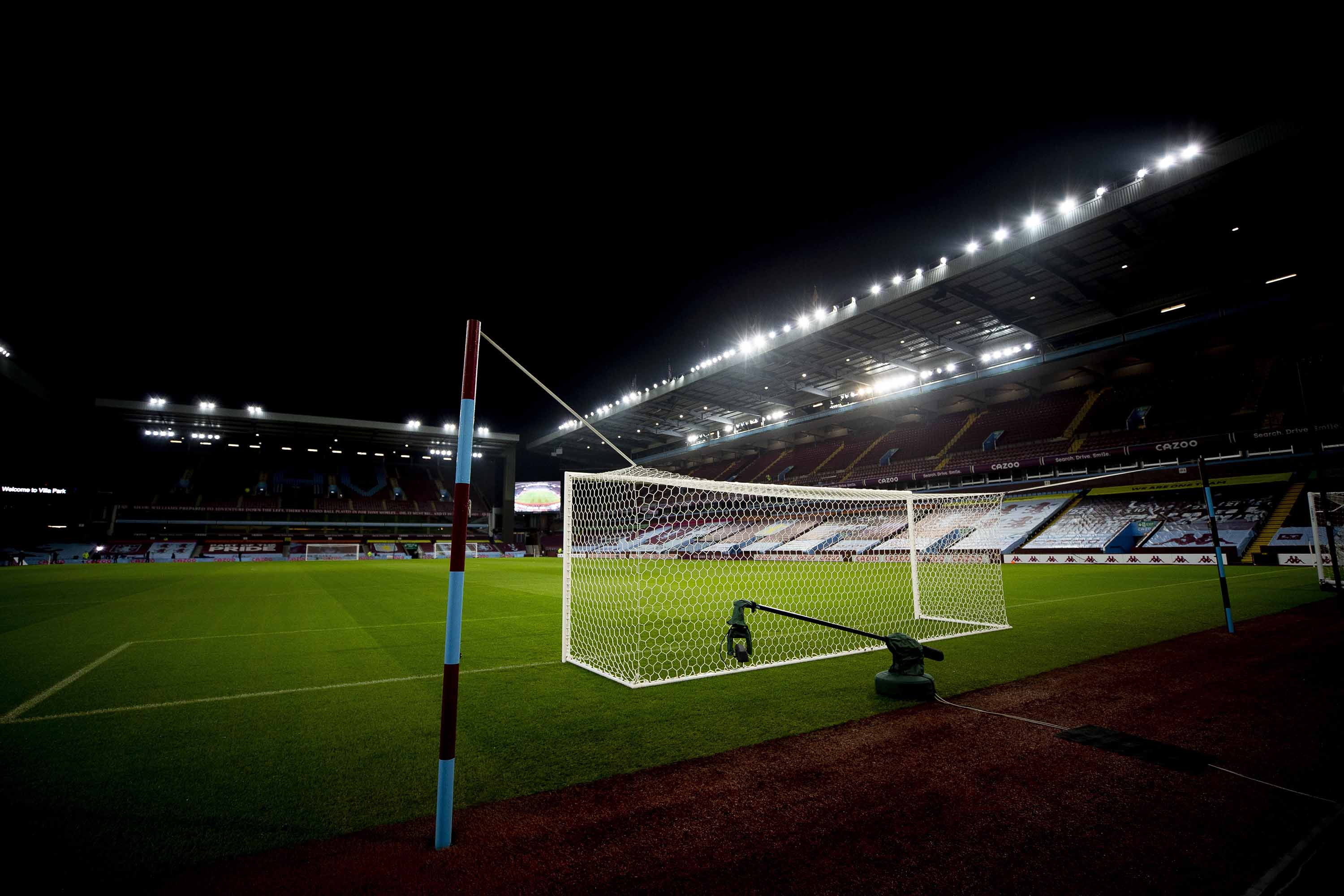 Villa Park, home of Aston Villa, before a match on January 8, in Birmingham, England.