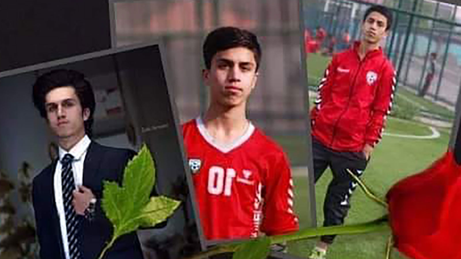 Afghanistan's General Directorate of Physical Education and Sports posted these photos of Zaki Anwari on Facebook on August 19, 2021.