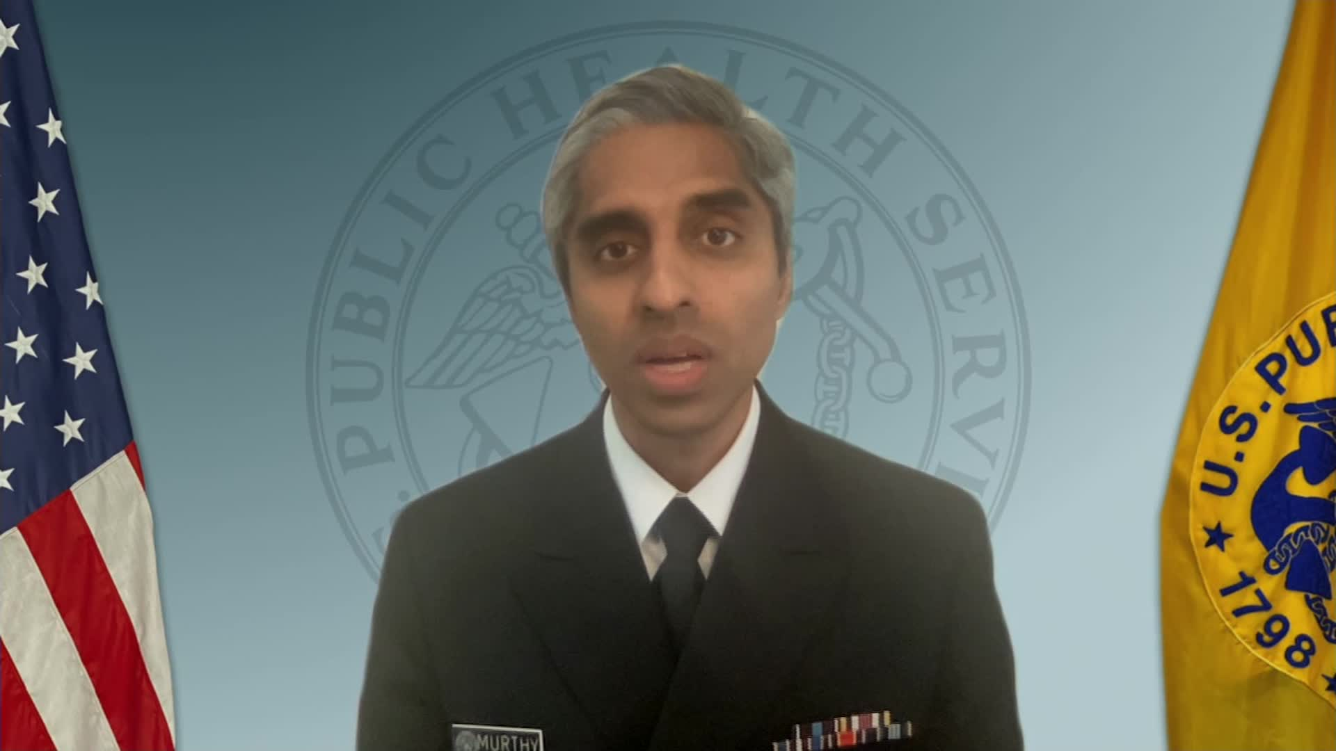 US Surgeon General Dr. Vivek Murthy.