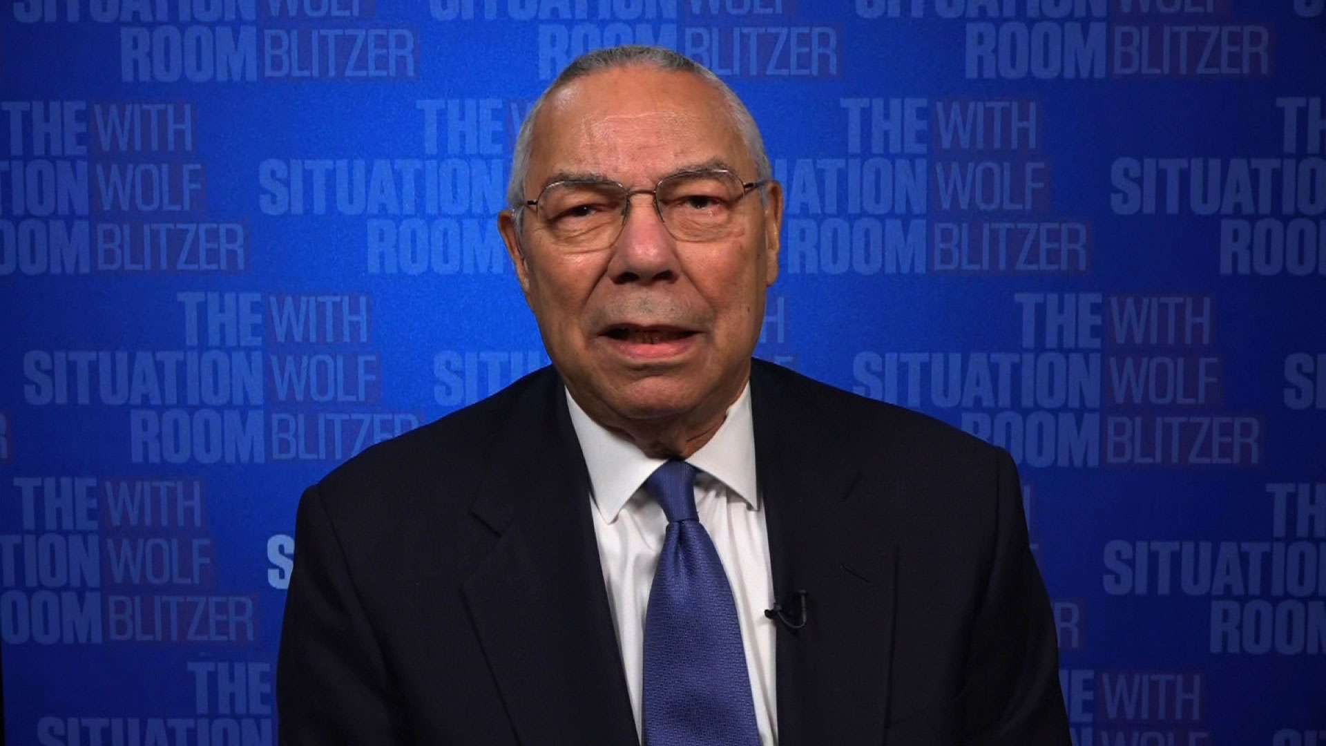Former Republican Secretary of State Colin Powell speaks with CNN on Thursday, January 7.