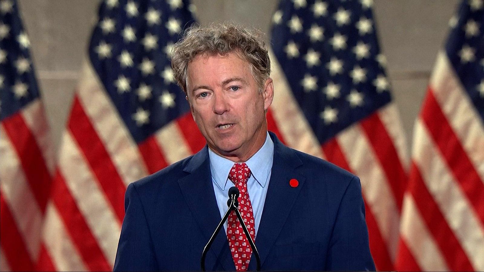 Kentucky Republican Senator Rand Paul.