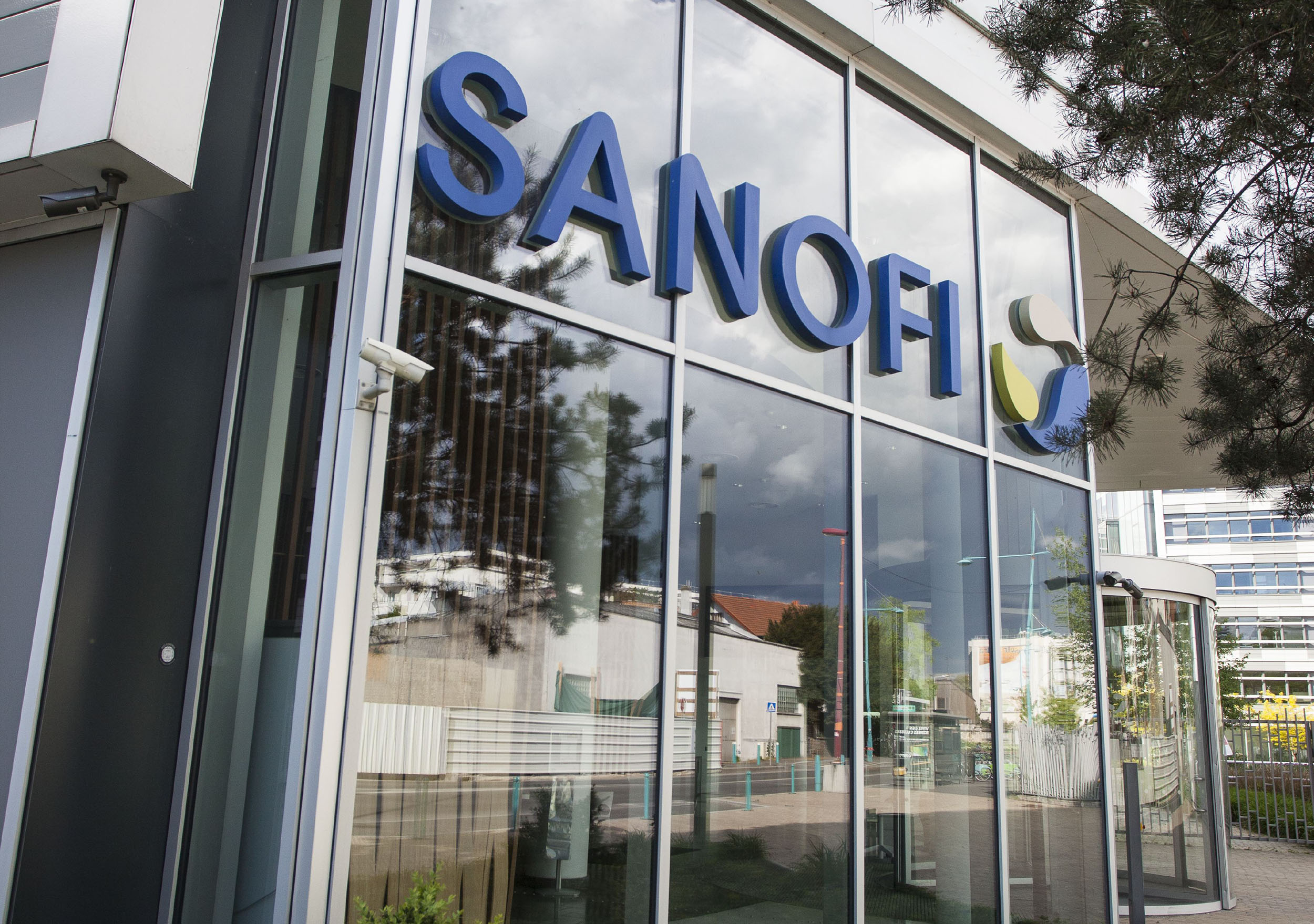 Sanofi headquarters in Gentilly, France.