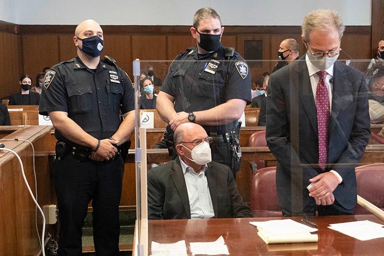 Allen Weisselberg appears in court in New York, Thursday, July 1.