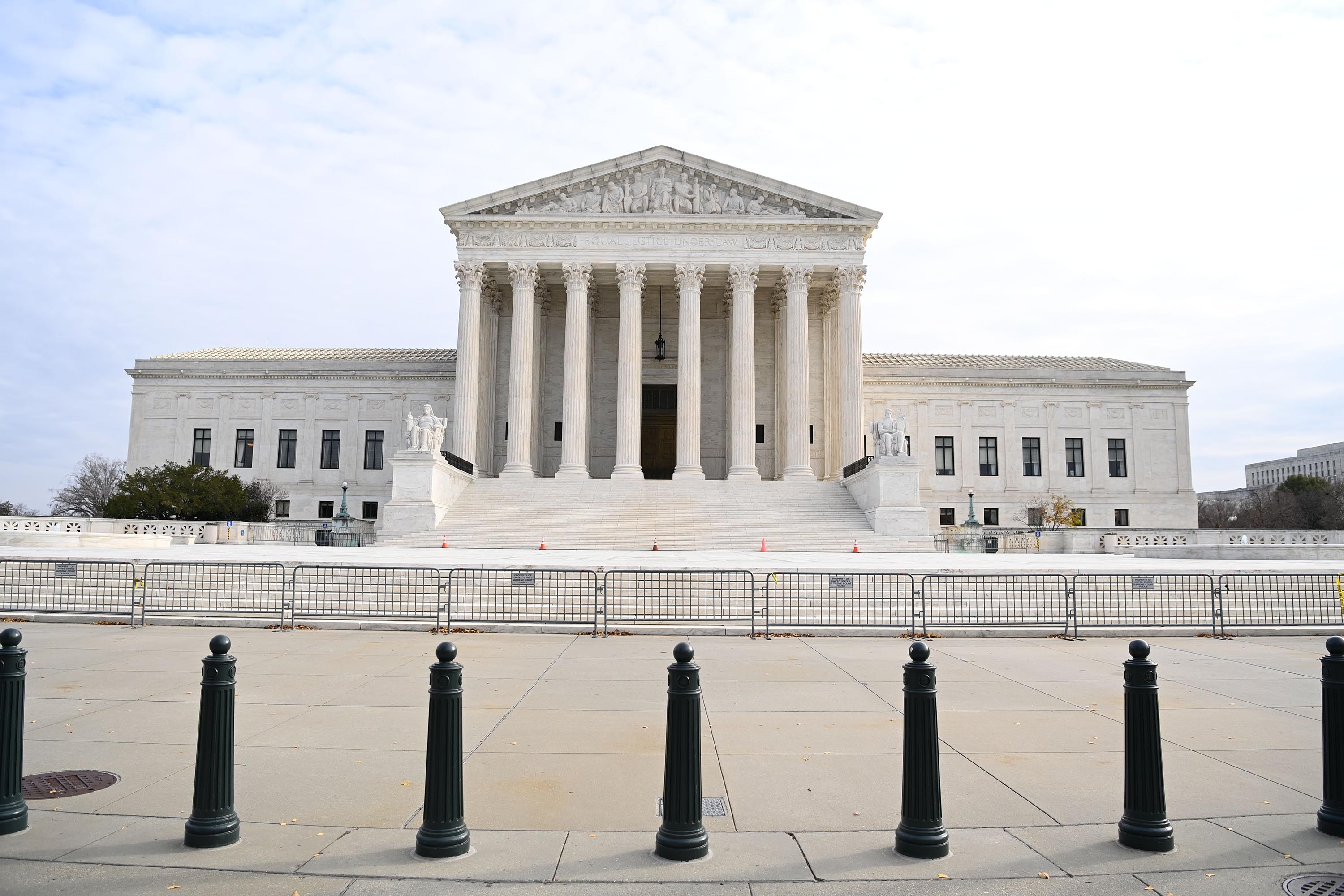 The Supreme Court building is seen on December 7.
