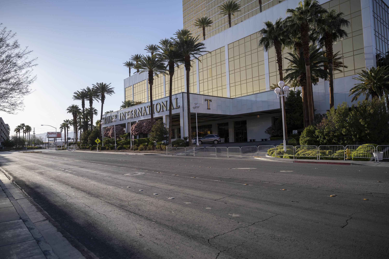 The Trump International Hotel in Las Vegas on April 3.