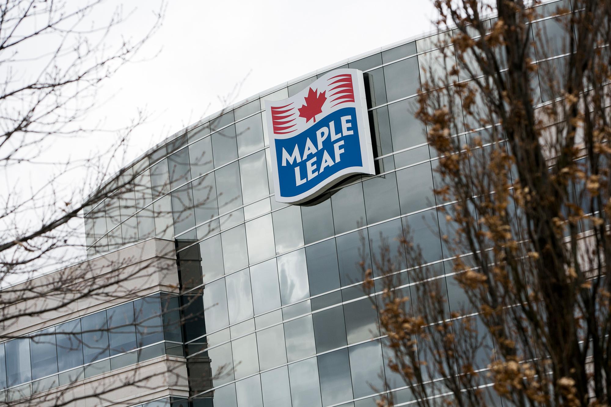 Maple Leaf Foods Inc., in Mississauga, Ontario, Canada.