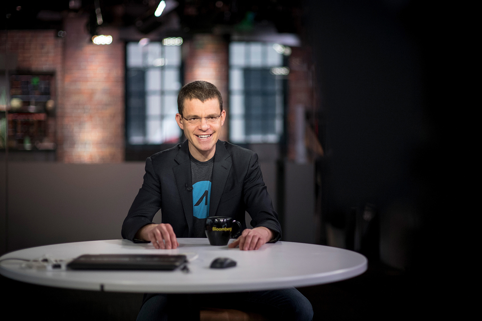 Max Levchin during an interview in San Francisco, California, in 2018.
