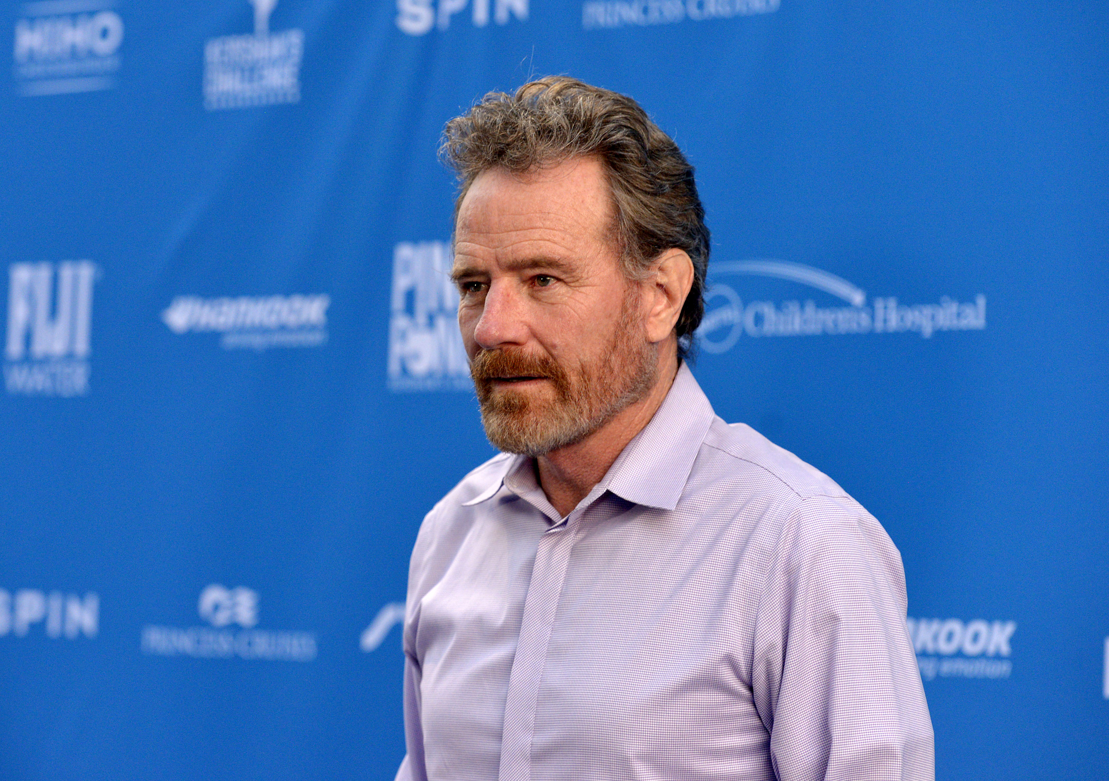 Bryan Cranston attends a fundraiser in Los Angeles in August 2019.