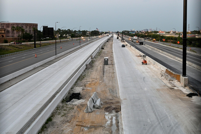 Interstate 4 in Orlando, Florida, on April 8.