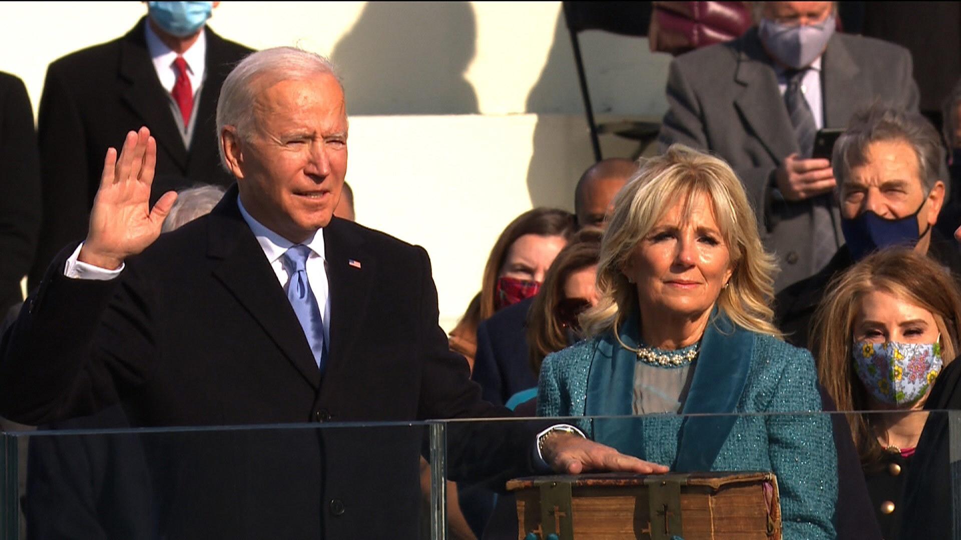Joseph R. Biden Jr. has been sworn in as America's 46th president 0d7b8024-7a6a-423f-bbe5-35a9387d96bf