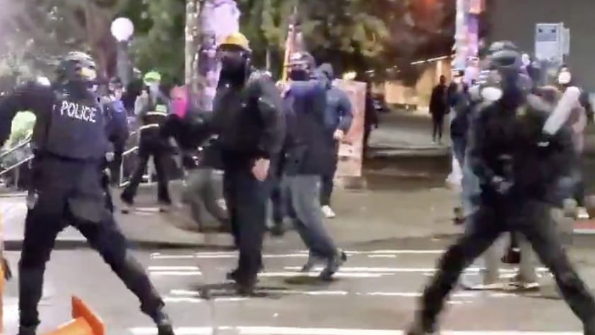 TheSeattlePolice Department has released imagery and information on arrests made Wednesday night.