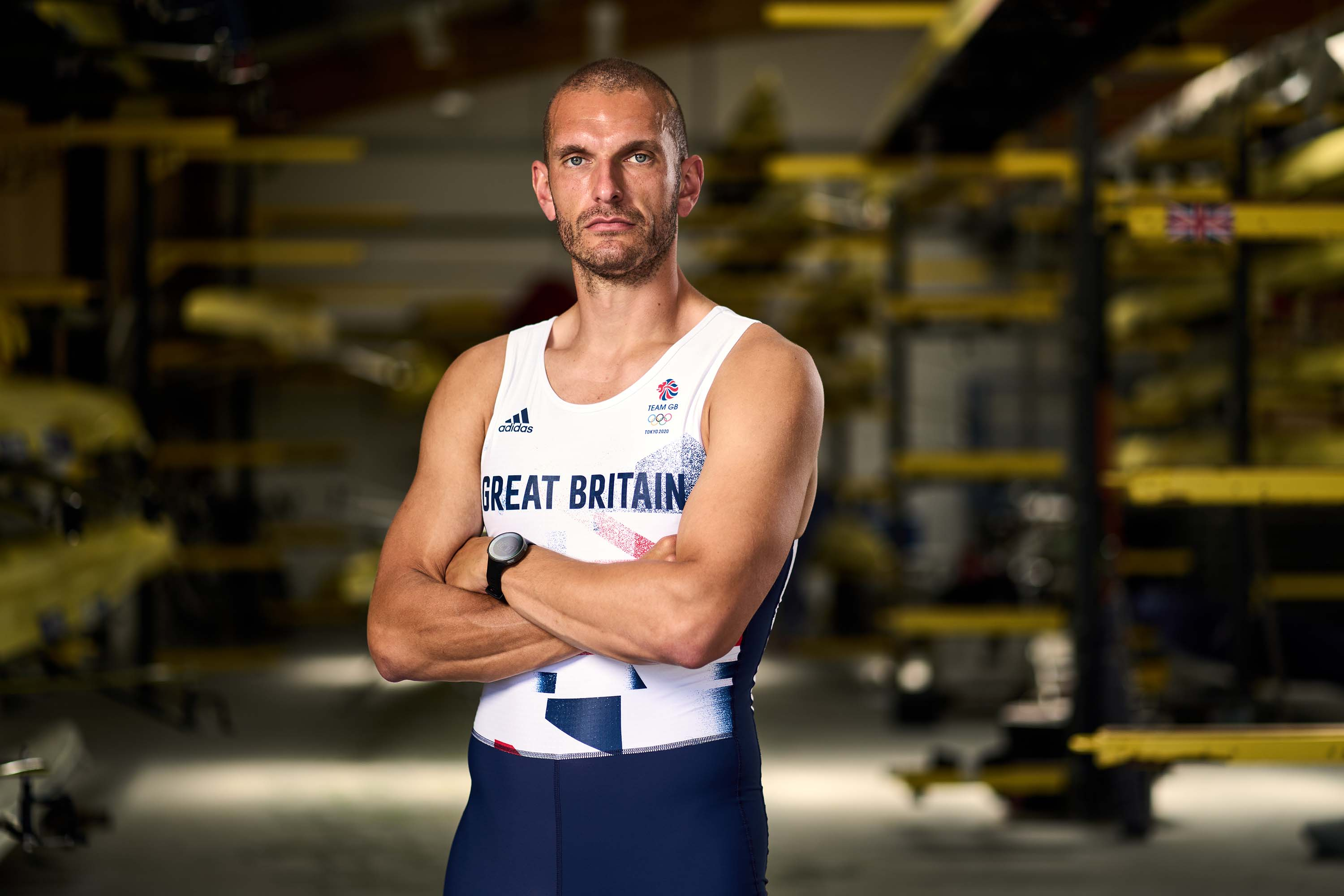 Great Britain's Mohamed Sbihi is pictured in Reading, England, on June 9.