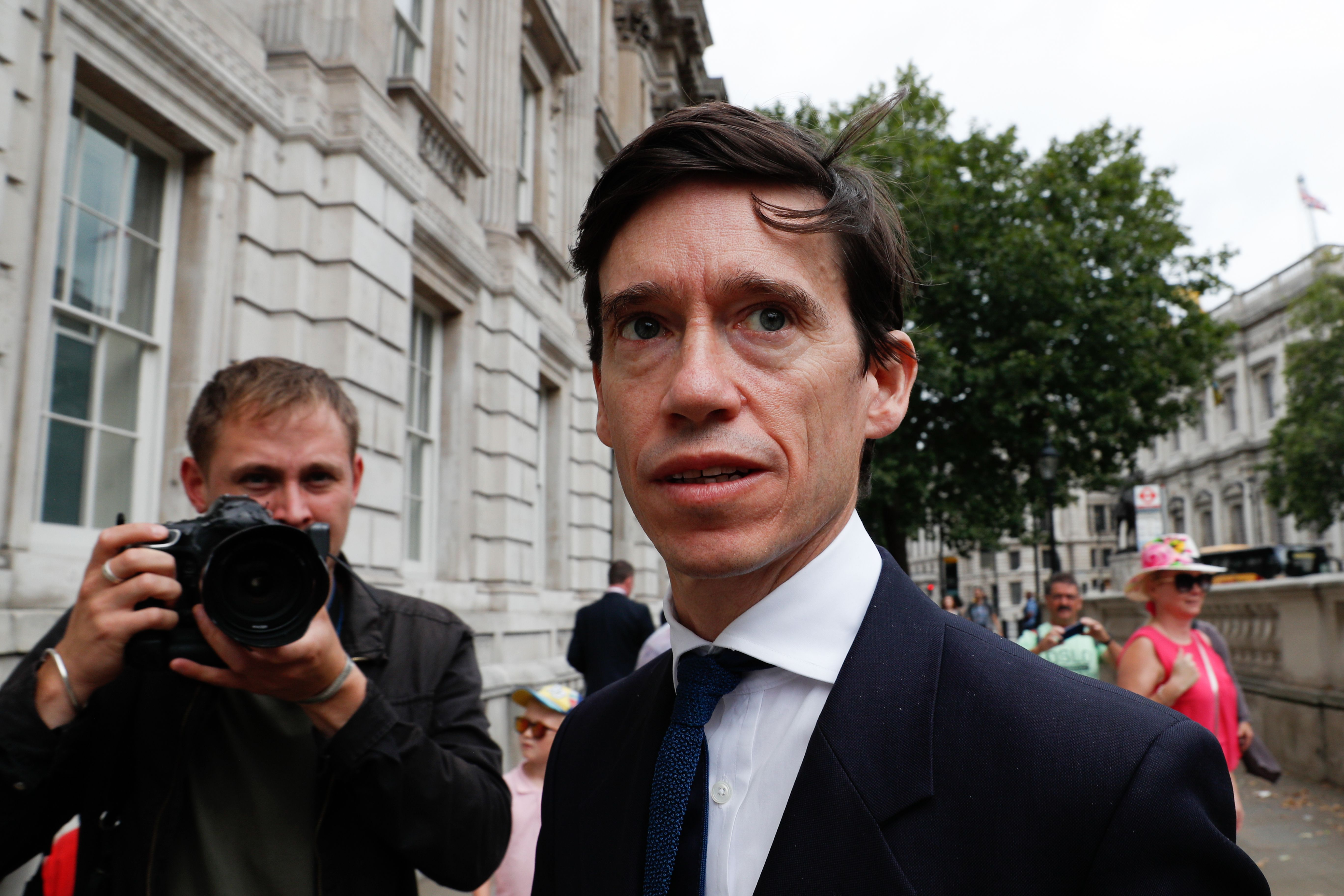 Rory Stewart pictured on July 22.