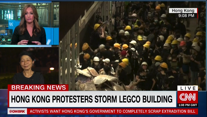 Hong Kong S Center Of Government Abandoned To Protesters