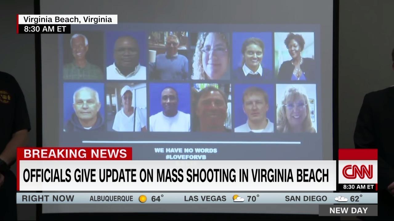 Live: Virginia Beach mass shooting - CNN