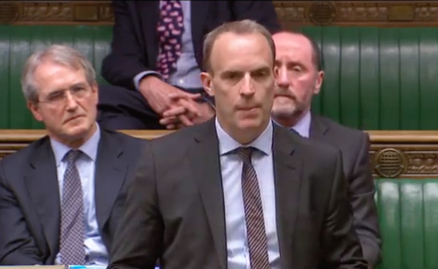 Dominic Raab tells the House Friday's vote is a finely balanced judgement call.