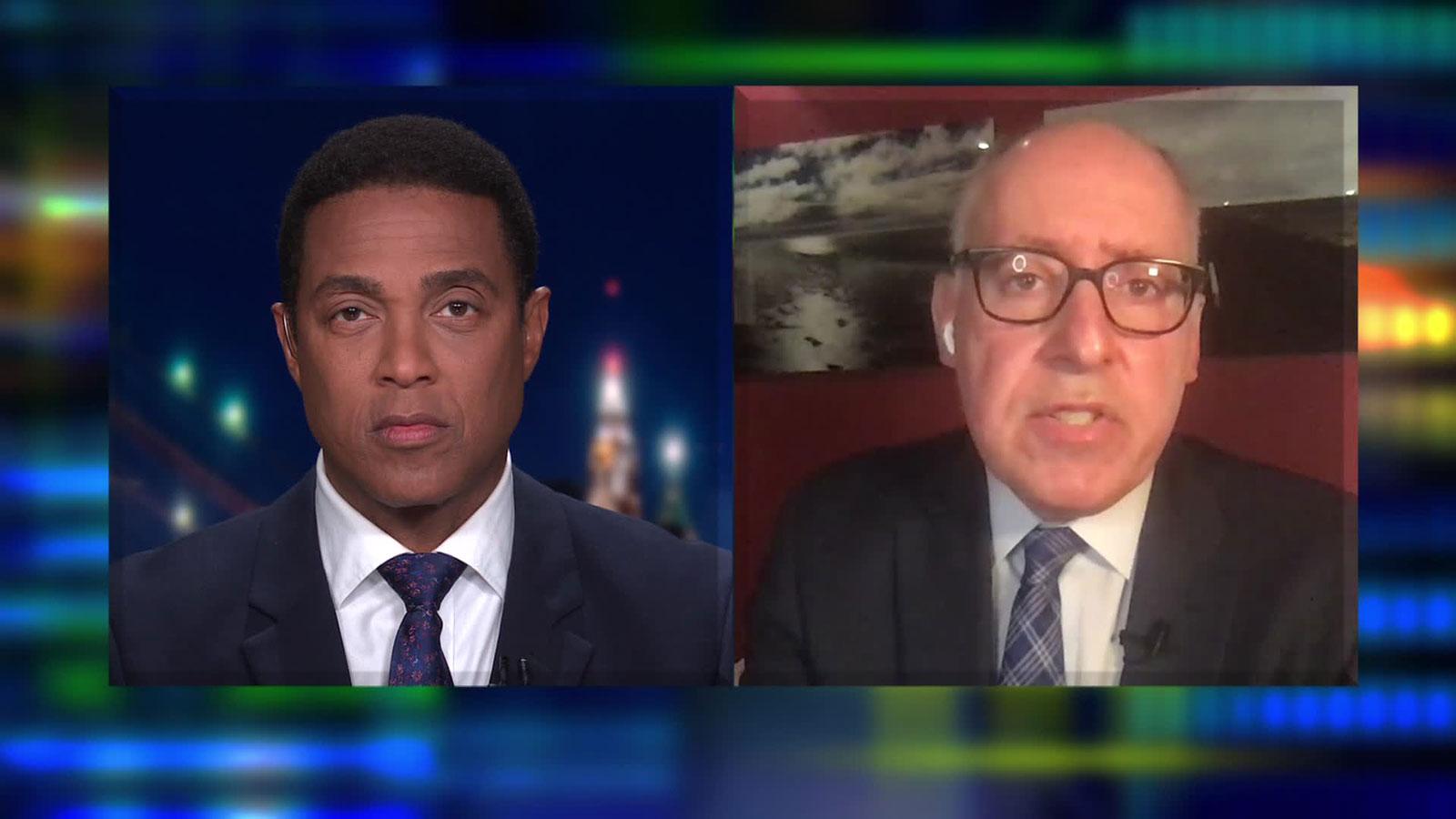 Dr. Jonathan Reiner talks to CNN's Don Lemon.
