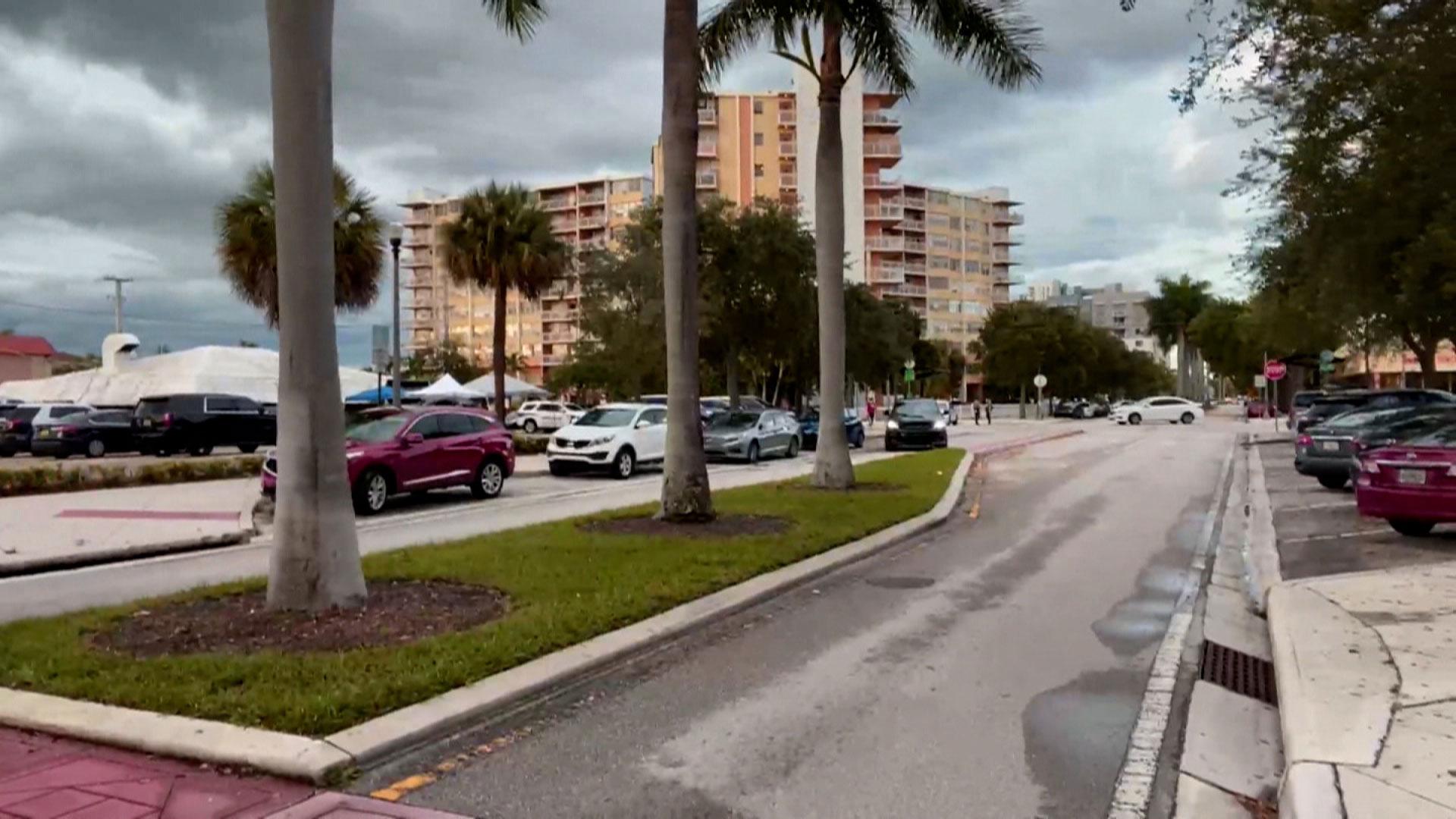 Crestview Towers Condominium building in North Miami Beach.
