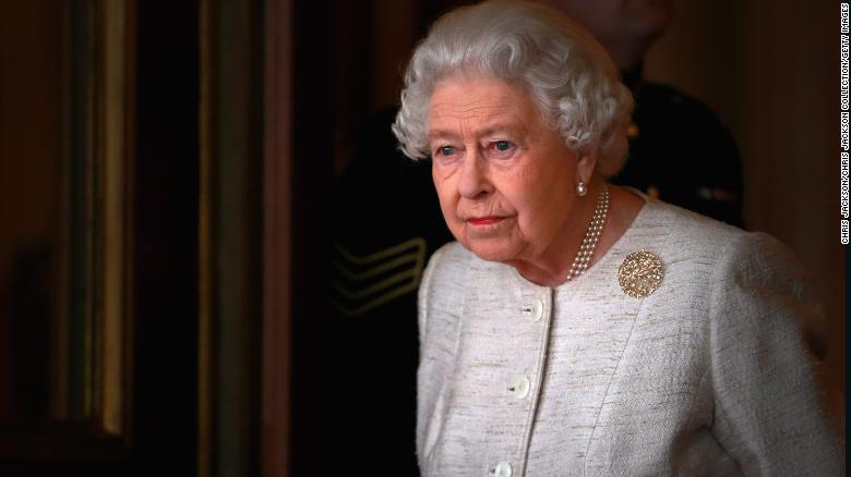 File photograph of Queen Elizabeth II