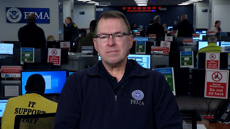Federal Emergency Management Agency's administrator Peter Gaynor
