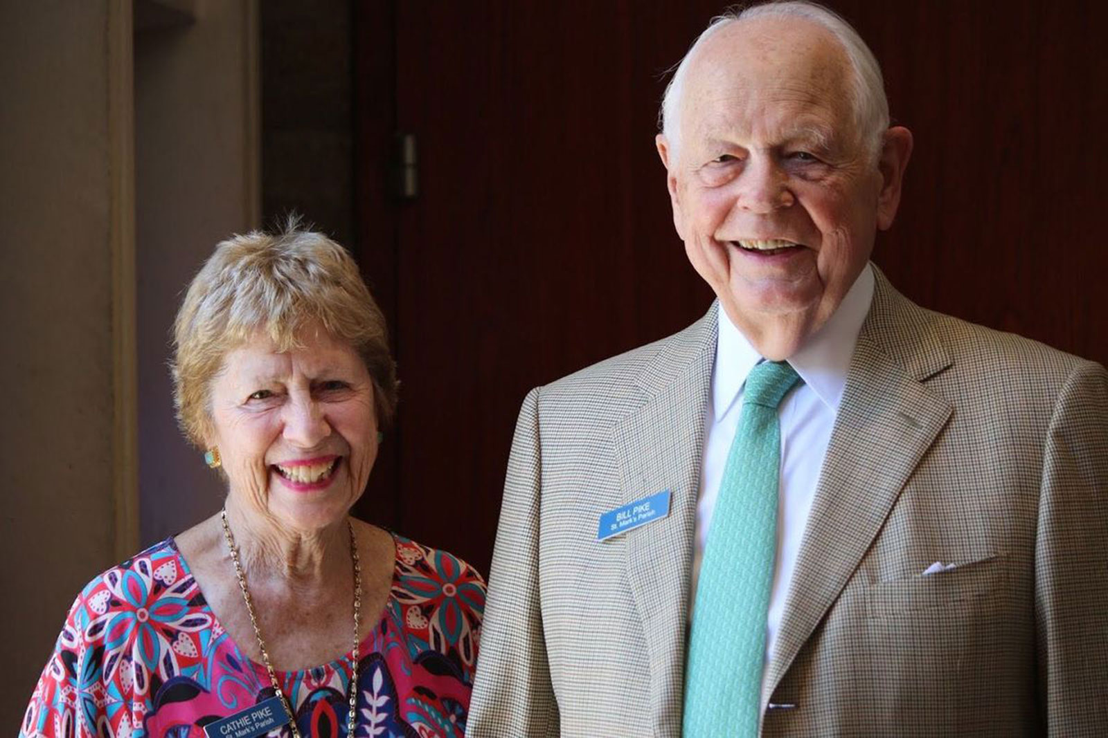 Bill Pike and his wife, Cathie Pike