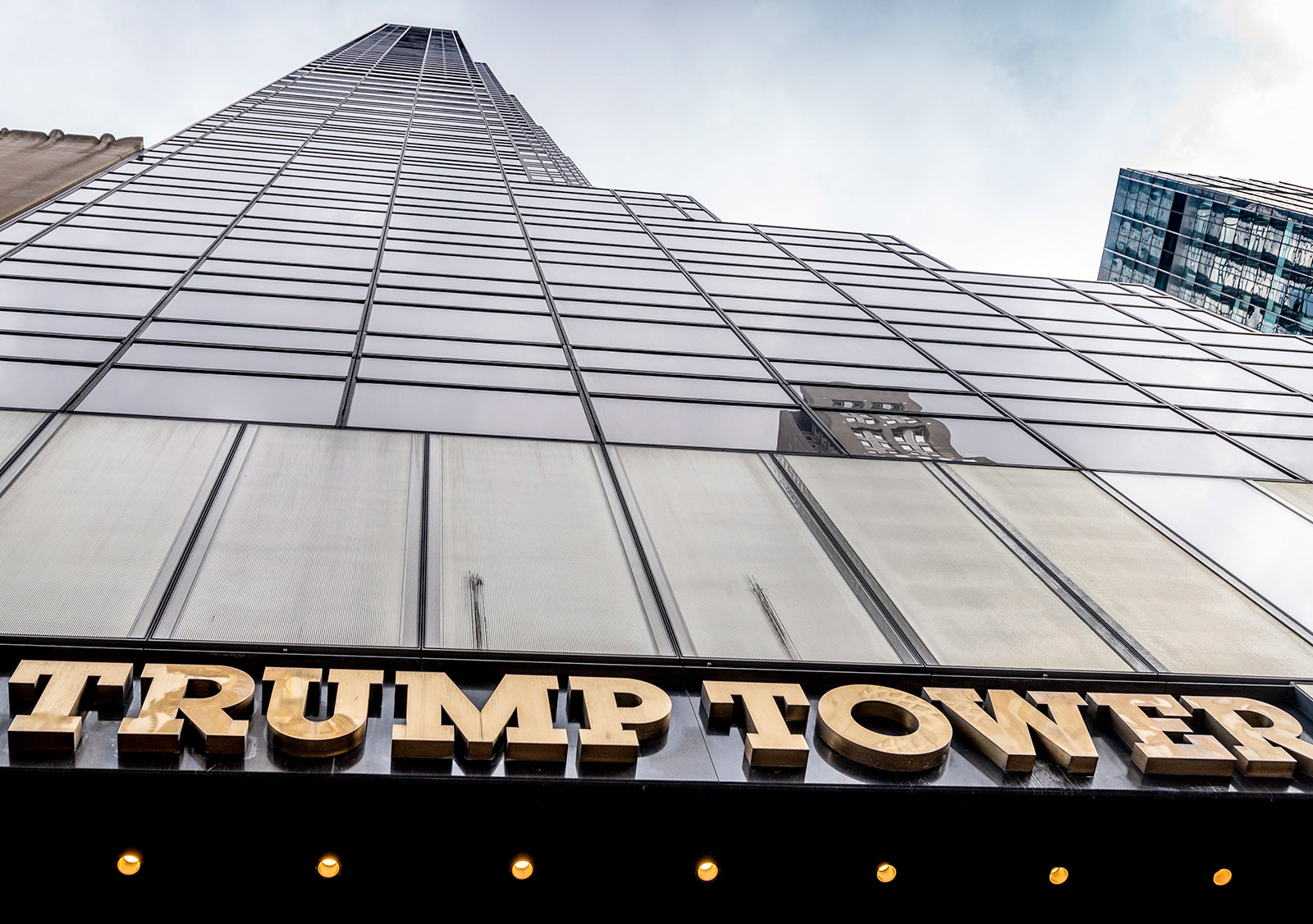 Trump Tower in Manhattan is the headquarters of the Trump Organization.