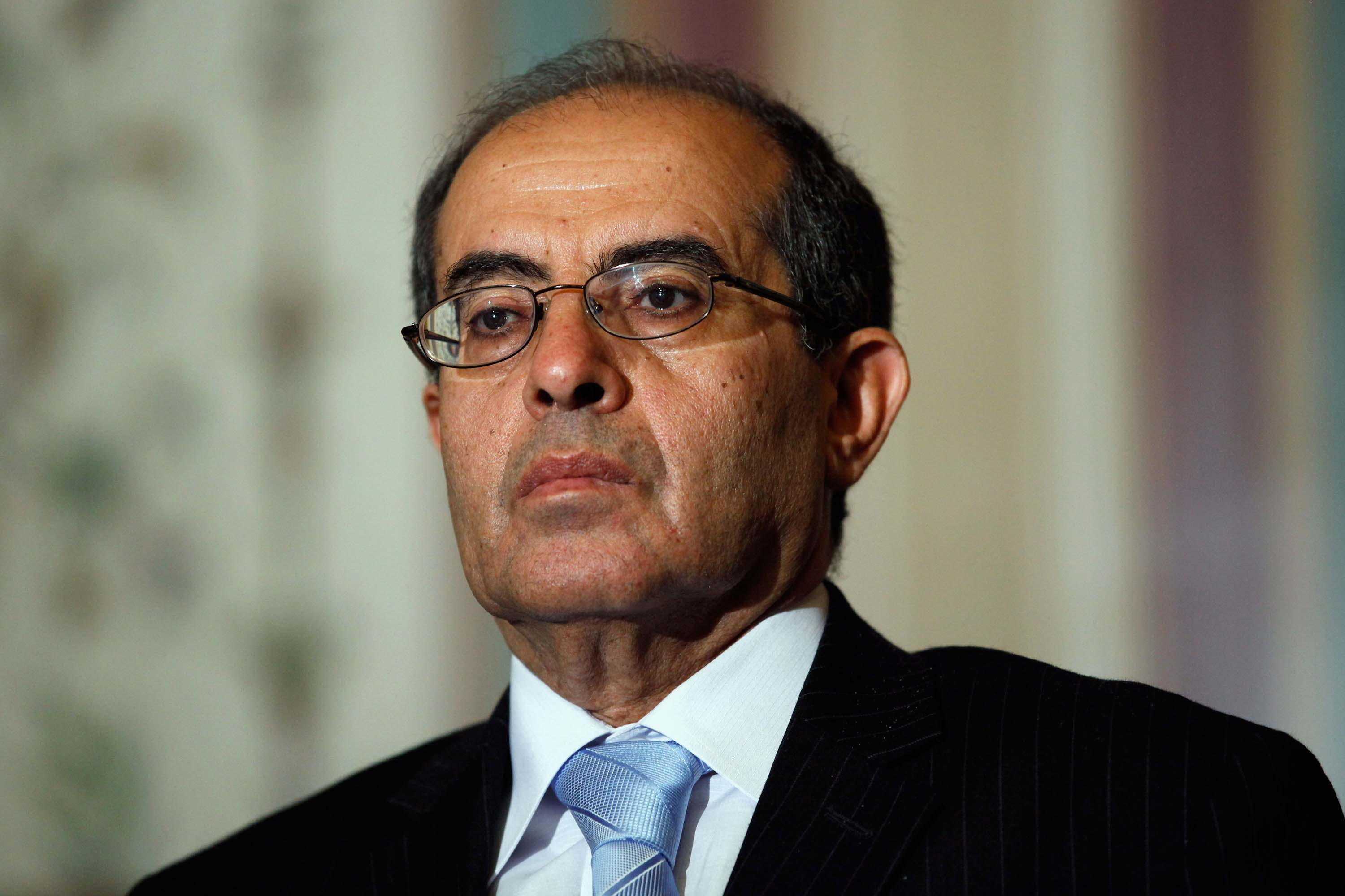 Former Libyan Prime Minister Mahmoud Jibril pictured in Washington, DC in 2011.