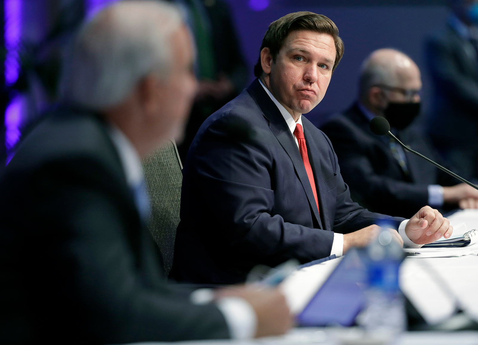 Florida Gov. Ron DeSantis.