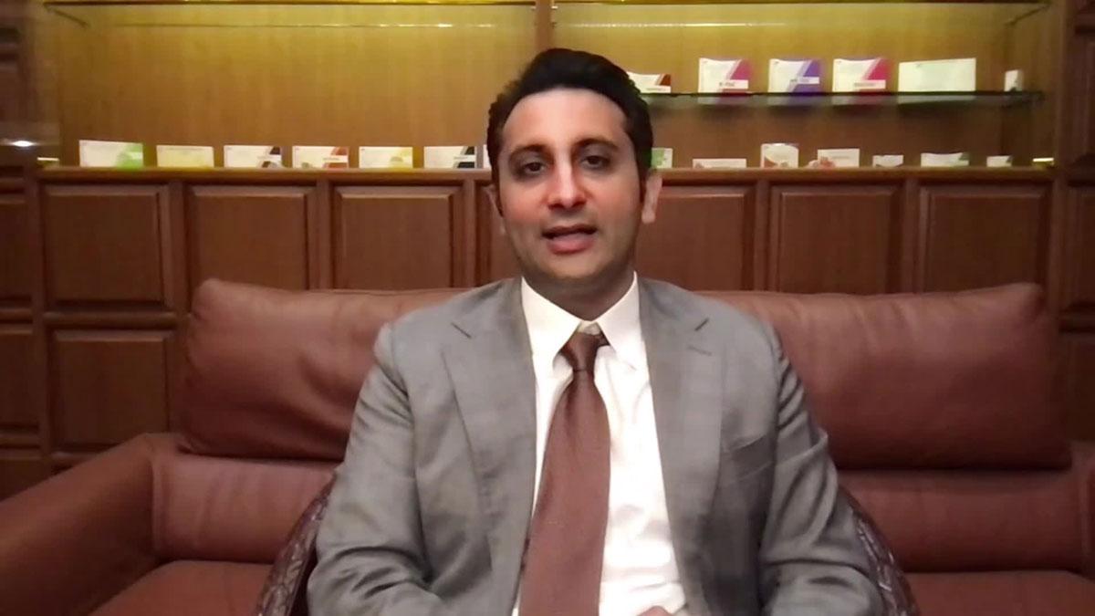 Serum Institute of India CEO Adar Poonawalla.
