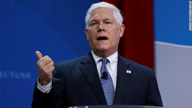 Rep. Pete Sessions speaks at the SelectUSA Investment Summit in Oxon Hill, Maryland in June 2017.