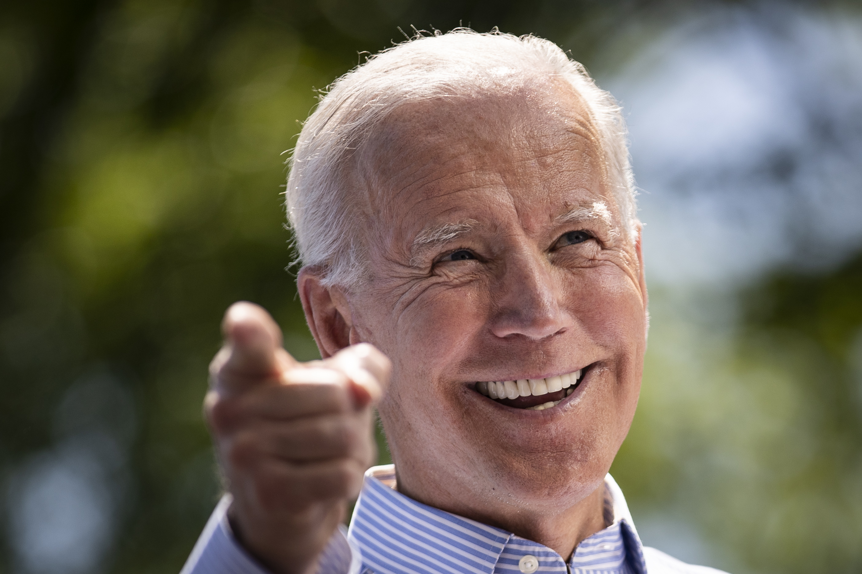 Democratic presidential candidate, former US Vice President Joe Biden, speaks during a campaign kickoff rally, May 18, 2019 in Philadelphia, Pennsylvania.