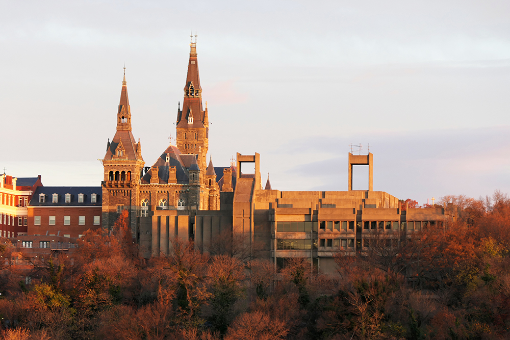 Georgetown University in Washington, D.C.