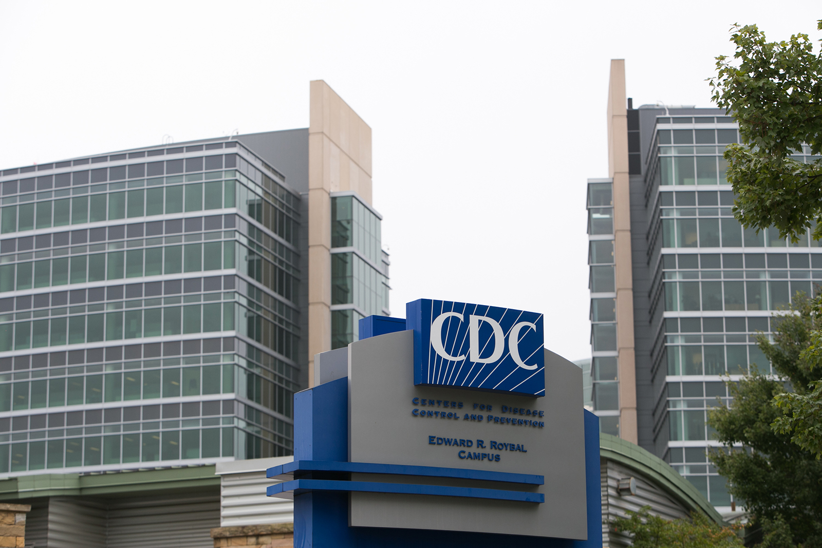 CDC headquarters is seen on October 13, 2014 in Atlanta, Georgia