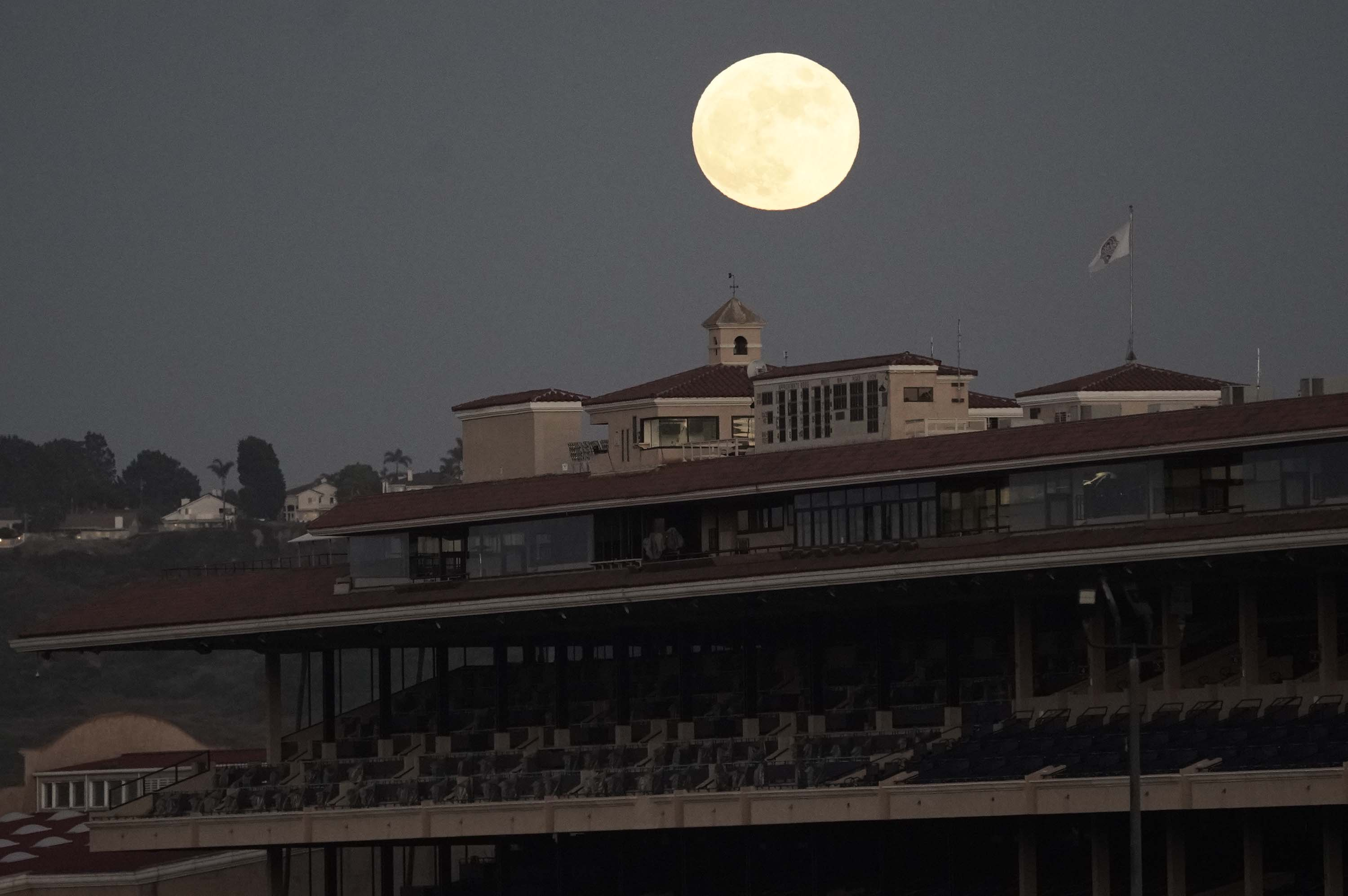 The Del Mar Thoroughbred Club is pictured in Del Mar, California, on July 4.