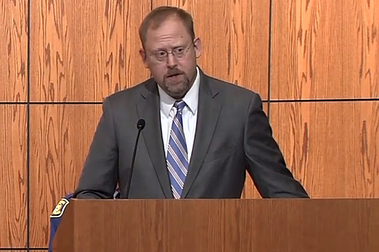 Andrew Birge, the US Attorney of the Western District of Michigan