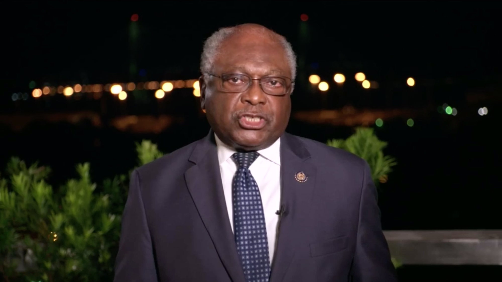 Jim Clyburn, Majority Whip in the U.S. House of Representatives and representing South Carolina's 6th District.