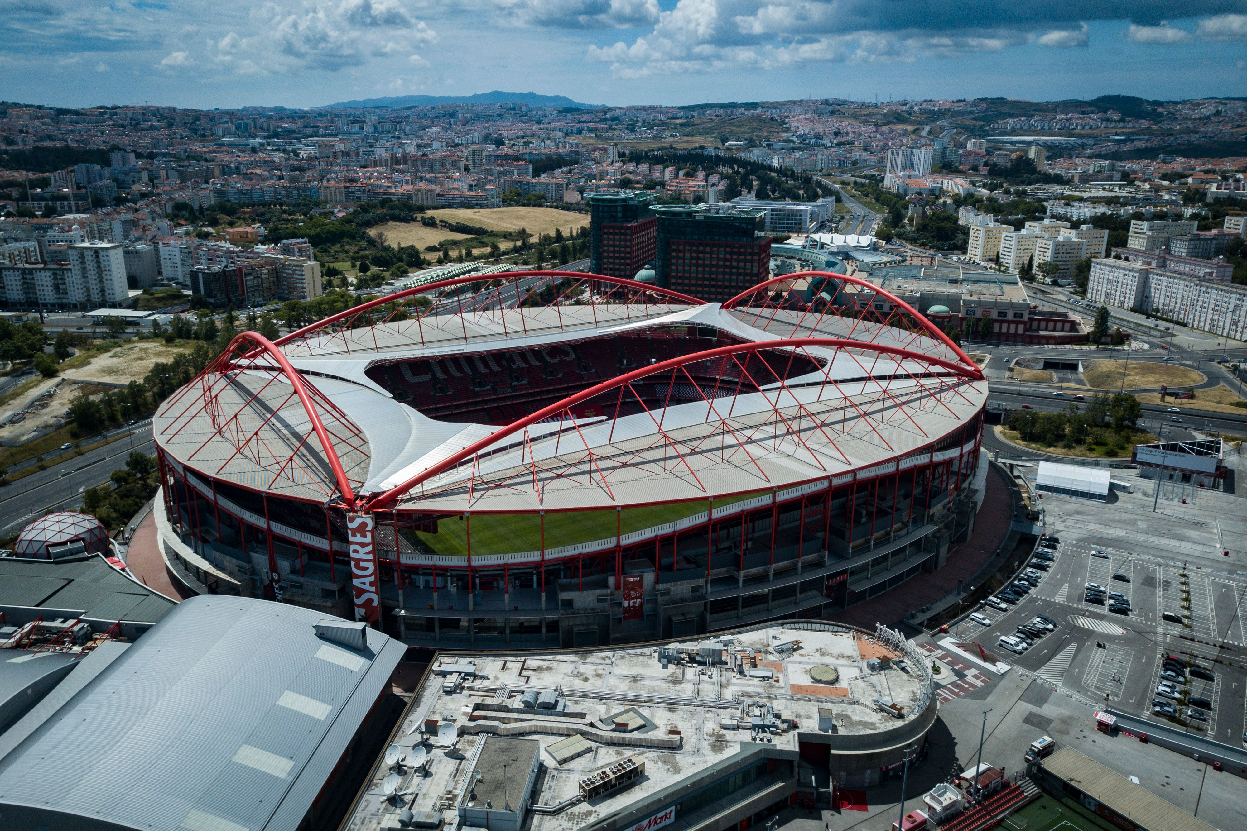 The Luz Stadium stands in Lisbon, Portugal, on June 17.
